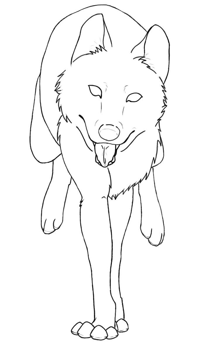 ▷ Mewarnai Serigala Gif Gambar Animasi & Animasi Bergerak